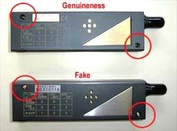 fake and original´s