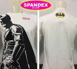 Kaos Batman Putih