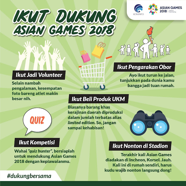 Dukung Asian Games 2018