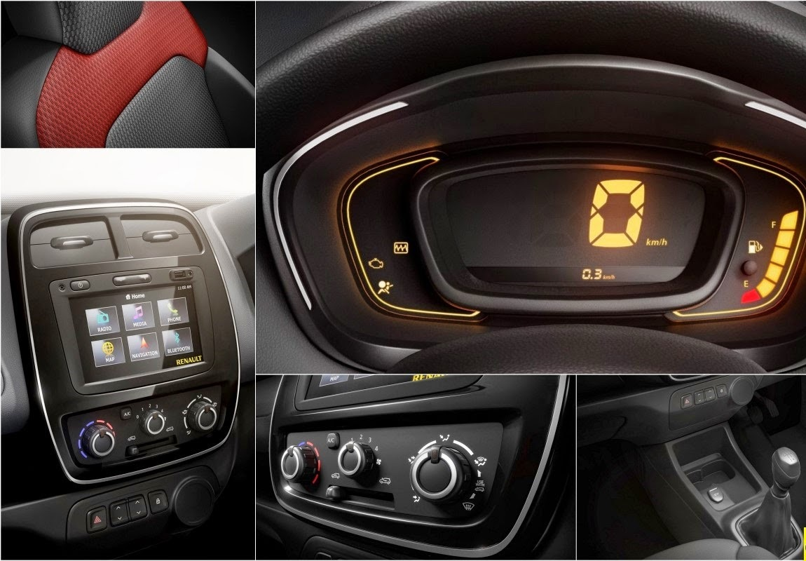Kwid RXT features interior