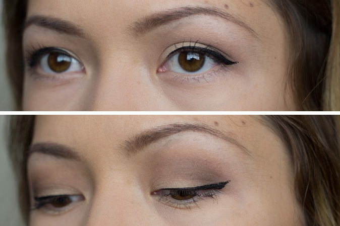 make up for ever graphic liner review worn