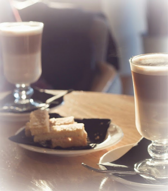 Morgan's Milieu | Chocolate, Alcohol and a Choice: Latte and biscuits.