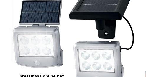 Faro led ad energia solare con sensore di movimento da lidl for Filtro per laghetto ad energia solare
