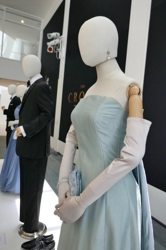 Jackie Kennedy dinner gown Crown season 2