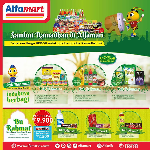 #Alfamart - #Promo Paket Sambut Ramadhan Harga Heboh (s.d 15 Mei 2019)