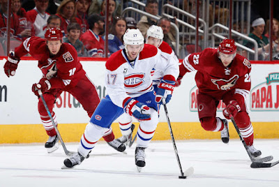 NHL : Canadiens Look to Capitalize on Short-Handed Coyotes