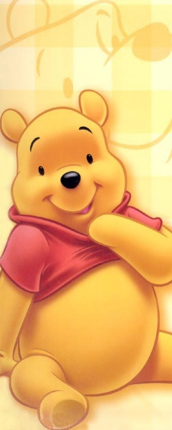 It is a photo of Declarative Pics of Winne the Pooh