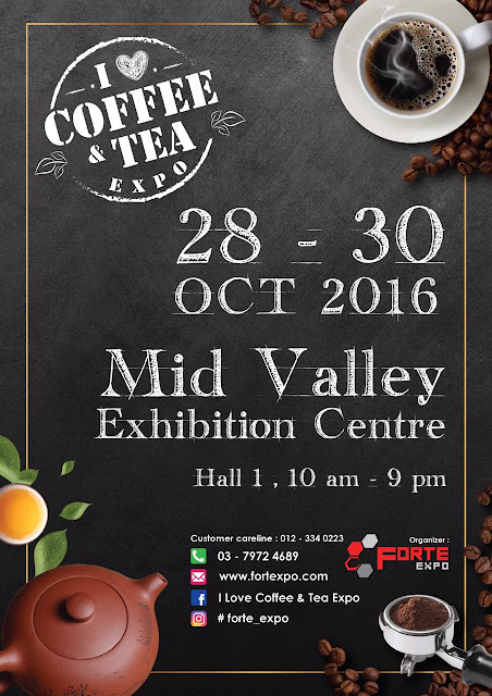 I love coffee & tea expo midvalley