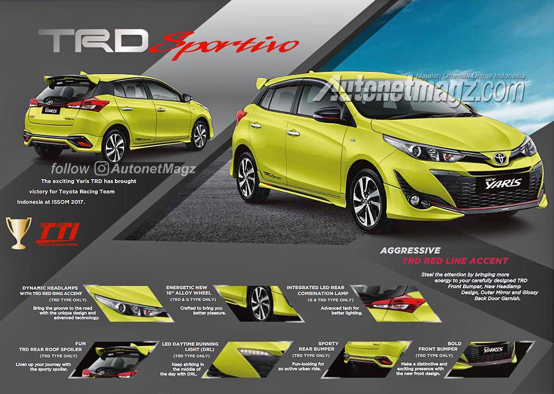New Yaris Trd Sportivo Toyota Cvt 2018 เปดตวในอนโดนเซย พรอม