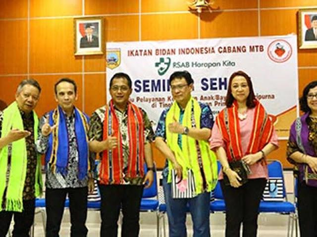 Ikatan Bidan Indonesia (IBI) MTB Gelar Seminar Sehari