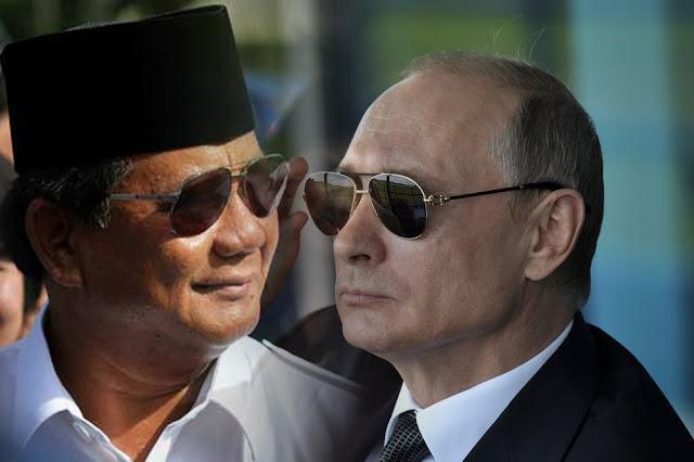 Gerindra Sebut Prabowo Mirip Putin
