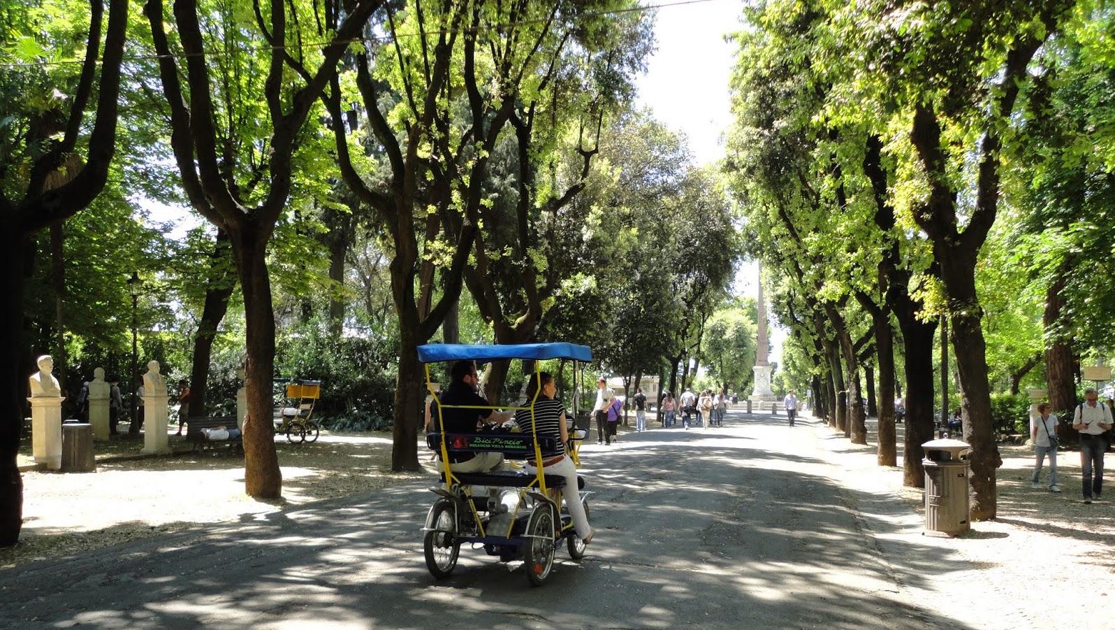 Jardins da villa borghese em roma dicas da it lia for Les jardins de la villa slh