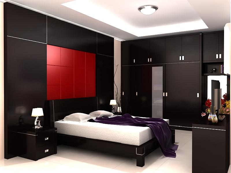 Gambar+desain+interior+kamar+tidur+utama+Minimalis+dan+Mewah+1