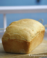 Wheat Sandwich Bread Loaf
