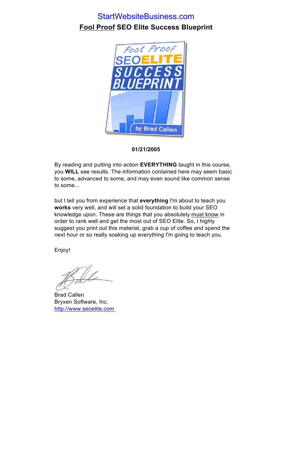 Seo Elite Fool Proof Guide Download Ebook 8freebooks