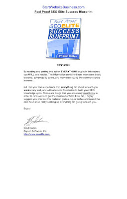 SEO Elite Fool Proof Guide Download eBook