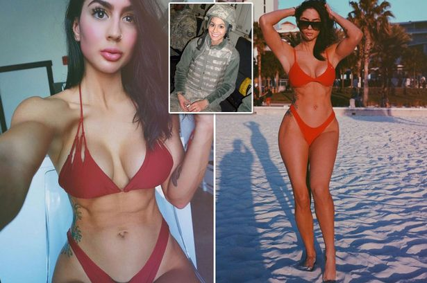 See Photos Of A Pretty Hot Lady Who Served As A Soldier In Afghanistan