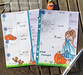 planner-stamping-cinderella-princess