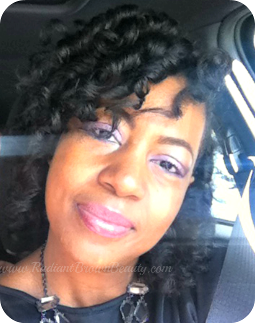 Tips For Smooth Shiny Curlformer Sets Natural Hair Styles Curlynikki Natural Hair Care
