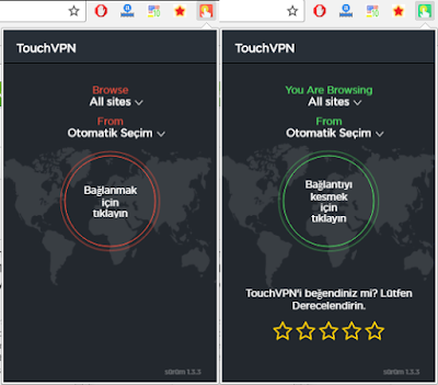 Ücretsiz Browser VPN Proxy: Touch VPN