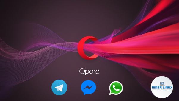 Navegador Opera ganha integração com WhatsApp, Telegram e Messenger