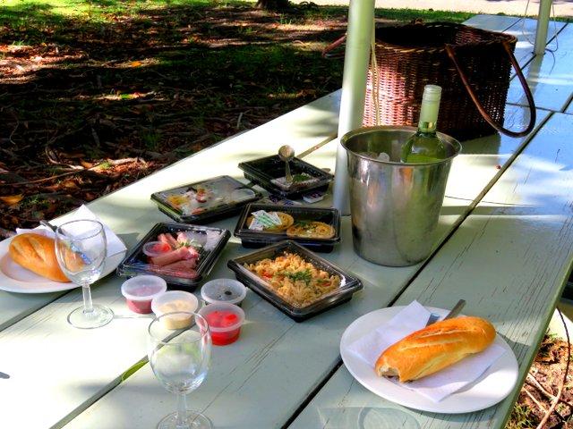 Zorgvliet picnic hamper