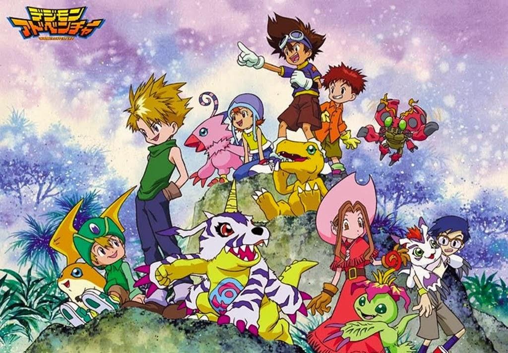 Digimon Ini Mau Yang Seri Mana Aja Tetap Bagus Baik Dari Series Paling Lawas Agumon Sampai Terbaru Anime Layak Ditonton Karena Memang