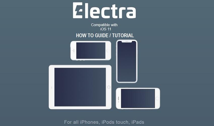 Jailbreak iOS 11.4.1 with Electra