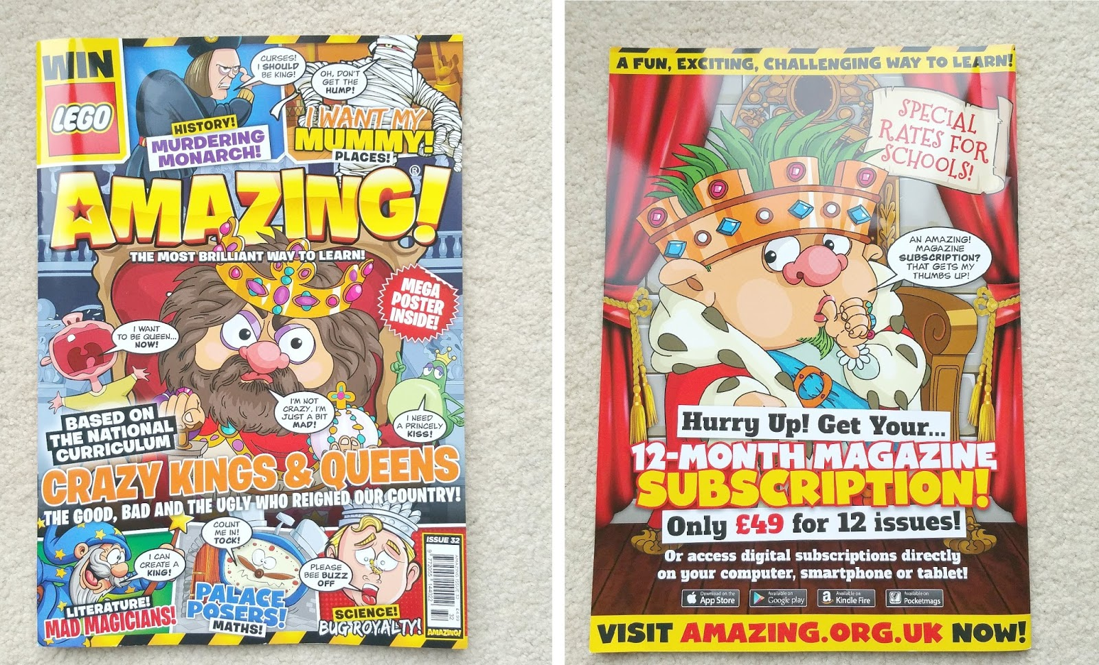 Children magazine, Amazing! Magazine, Educational magazine for kids