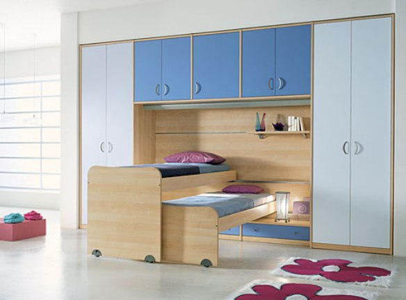 Contemporary Bunk Beds