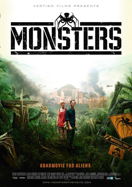 Monsters affiche film 2010