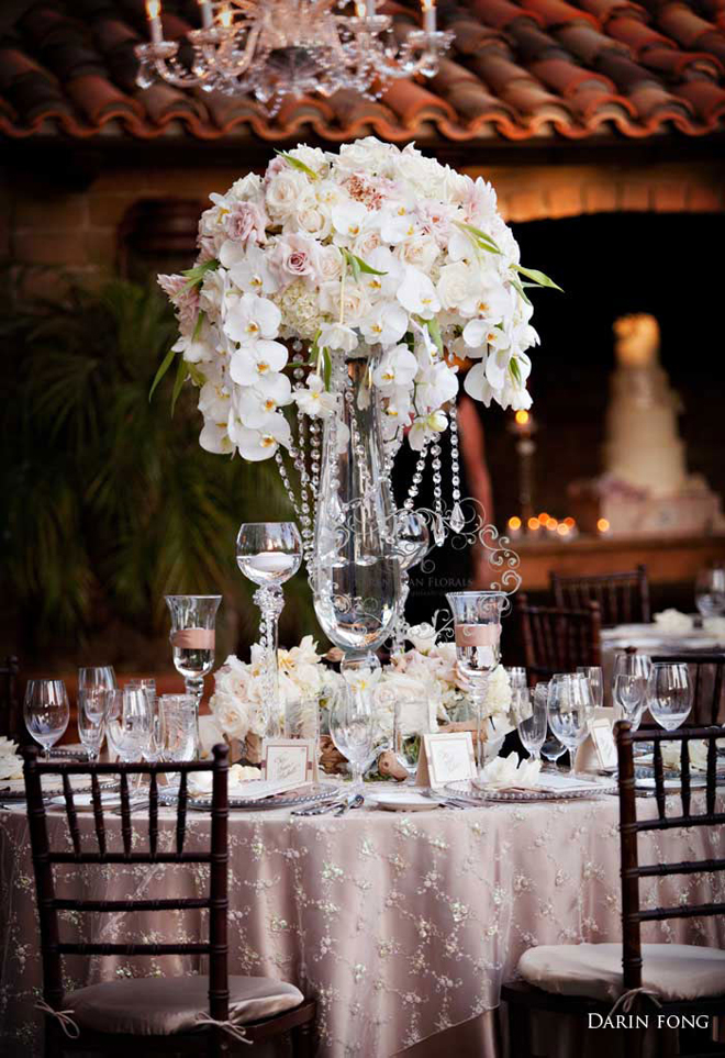 ideal wedding center pieces a million things to love. Black Bedroom Furniture Sets. Home Design Ideas