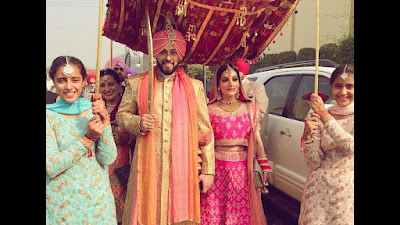 sangram-singh-wedding-walk-to-marry-Gurukiran-kaur