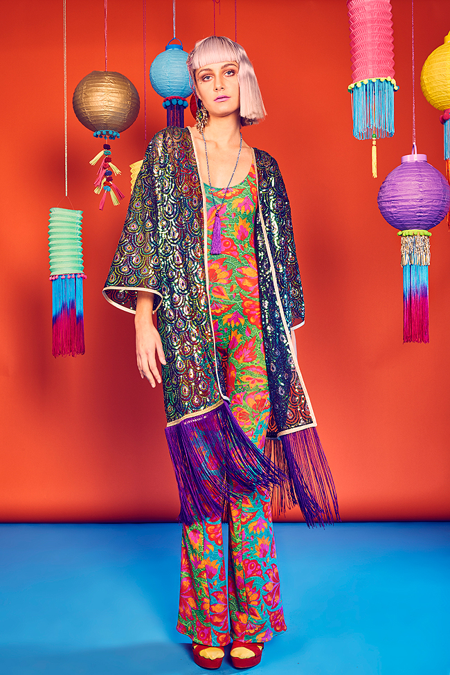 festival fashion, kimono, tassels