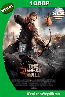 La Gran Muralla (2016) Subtitulado HD WEB-DL 1080p - 2016