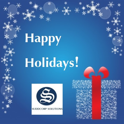 Happy Holidays from Suddcorp Solutions!