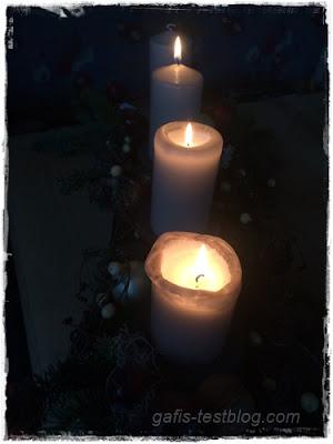 Die dritte Kerze brennt
