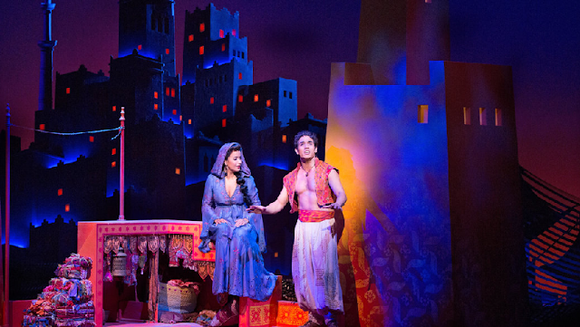 Musical Aladdin na Broadway em Nova York