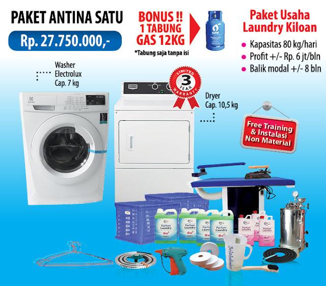 1-PAKET-ANTINA-1 Paket Usaha Laundry kredit Tanpa survey
