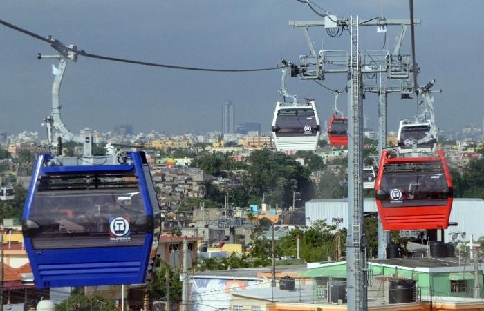 Teleférico de Santo Domingo suspende servicio por lluvias