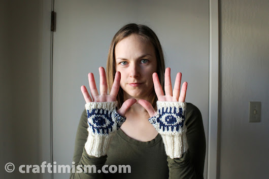 Evil Eye Mitts