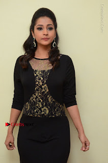 Telugu Actress Manasa Manohar Stills in Black Long Dress at Naku Nene Thopu Turumu Trailer Launch  0026.JPG