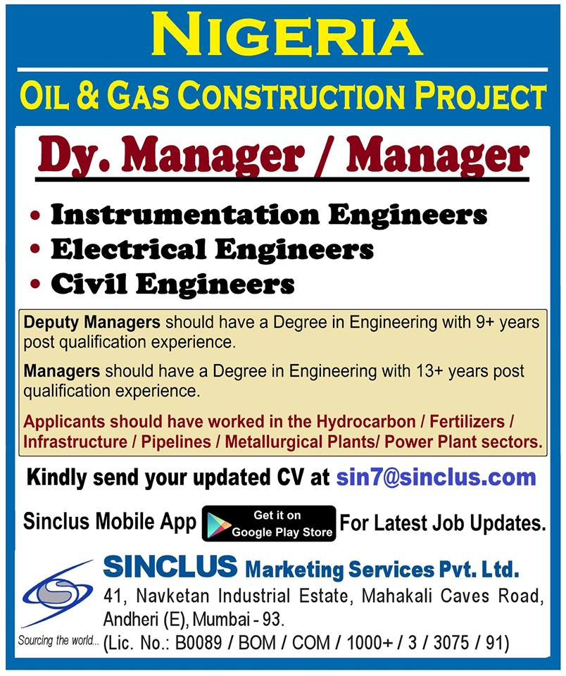 Oil & Gas Construction Project Nigeria