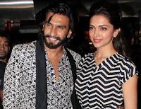 Deepika Padukone dengan Ranveer Singh