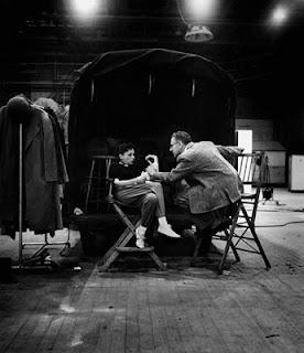 El rodaje de Ha nacido una estrella - 1954