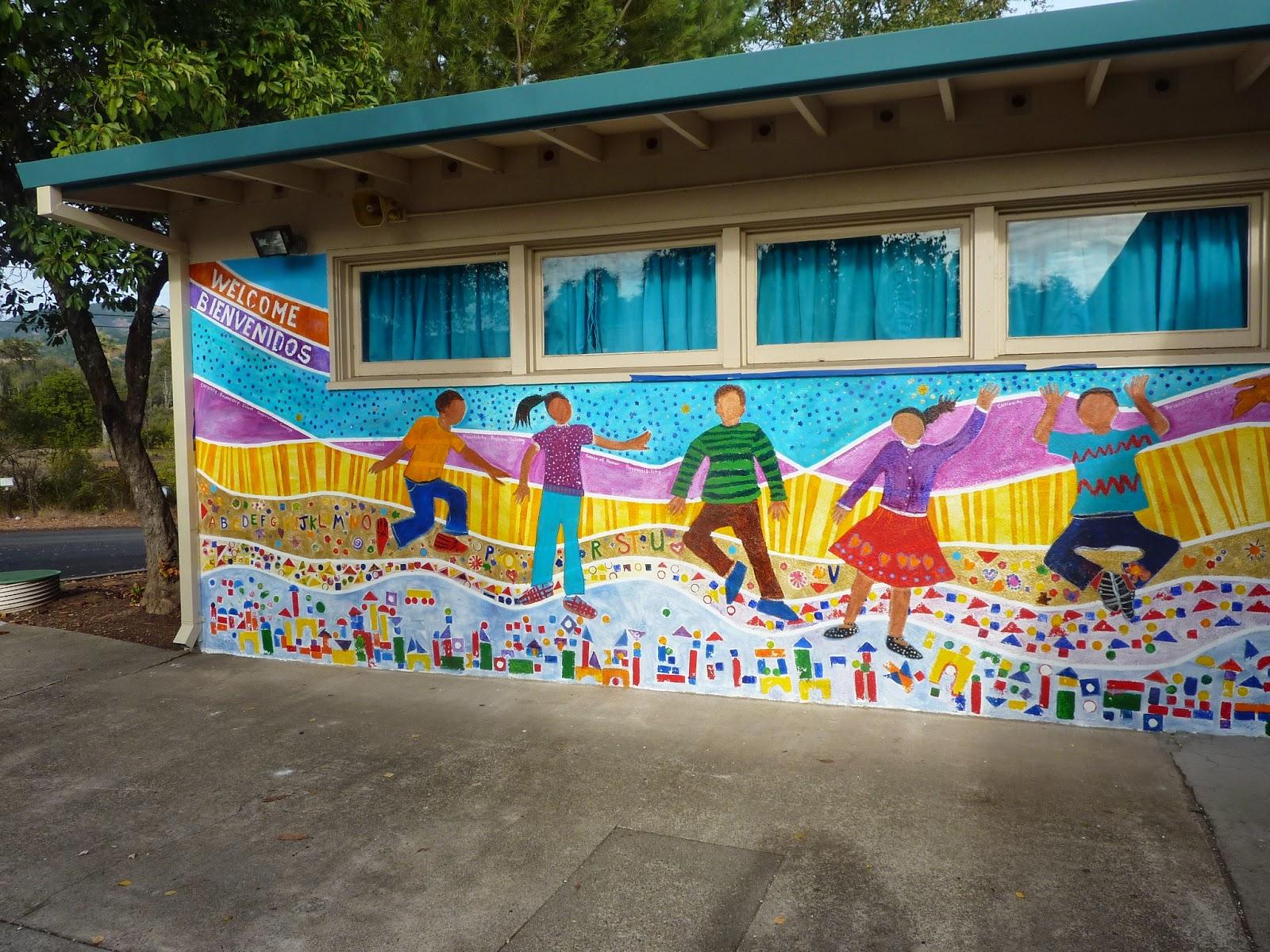 Flockworks childrens banner project for Childrens mural ideas