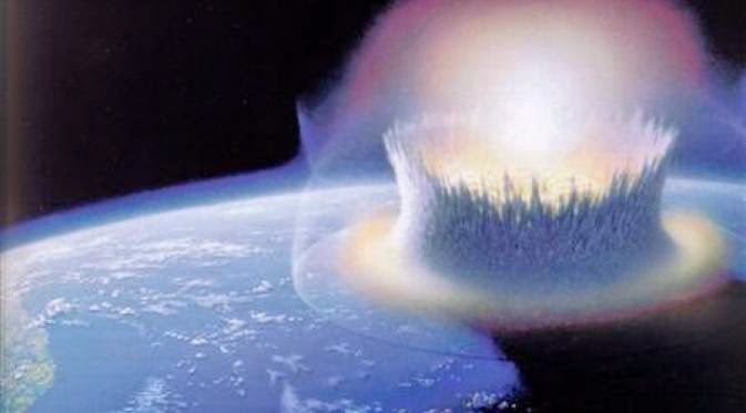 The Most Powerful Weapon On Earth In The Human Soul On: Asteroid Collision Impact More Powerful Than The Nuclear Bomb