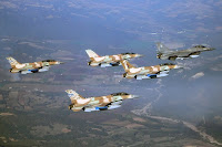 Greek and Israeli warplanes