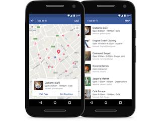 Το Facebook εντοπίζει πλέον τα πλησιέστερα WiFi hotspots