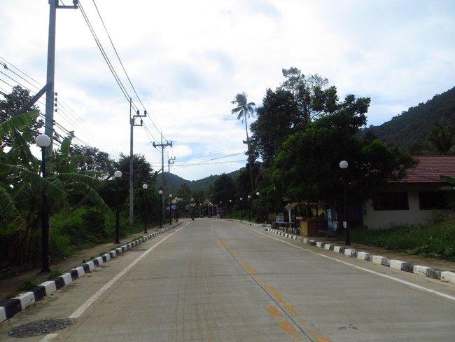 Улица на Пангане